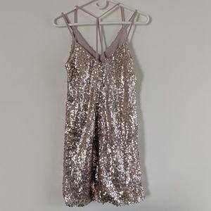 Xhilaration sparkly party dress sz S